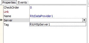 RtcDataProvider  Linked to the Server
